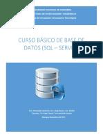 Material Base - Básico de SQL – SERVER