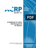 Acrp_rpt_131_Safety Risk Management for Airports
