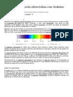Sensor de Radiación Ultravioleta Con Arduino