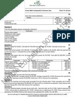 ISC Accounts Part B Full Test