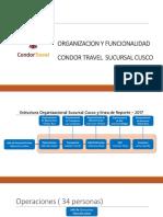 Organizacion y funcionamiento de Condor Travel