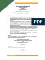 UU No 13 Tahun 2003 Tentang Ketenagakerjaan