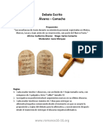 Debate Alvarez Camacho