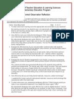 postobservationreflection  2