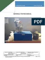 Materials Testing Manual Book