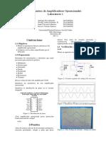 Parametros de amplificadores operacionales