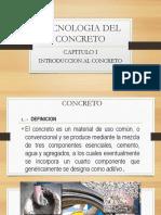 Definición - Composición Del Concreto