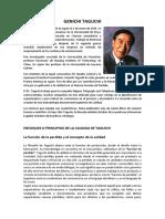 Genichi Taguchi- PUNTOS 7,8y9 -Demin- Javier I.S