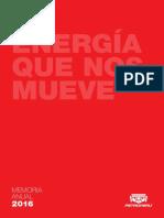 Memoria Petro Peru 2016