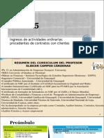 NIIF 15 Contratos de Clientes