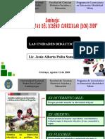 Confer en CIA Unidades Didactic As Seminario Lemm 2009