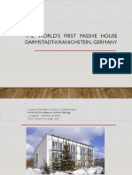 The World's First Passive House
