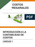 Unidad 1 Introduccion a La Contabilidad de Costos