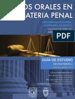 Juicios Orales en Materia Penal - UNAM