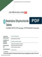 Betahistine Dihydrochloride 16mg Tablet...pdf