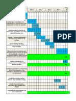 Cronograma y Cotización