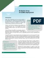 Deployment Options for W-CDMA