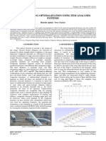 COMPOSITE WING OPTIMALIZATION USING FEM ANALYSES SYSTEMS by Miroslav Spišák – Peter Malatin
