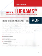 Concept Note on IntelliEXAMS - An Examination Management System