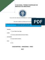 Política de Modernización de La Gestión Pública de La Municipalidad de Chachapoyas
