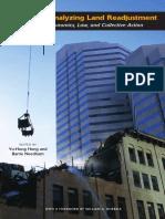 Analyzing Land Readjustment Full