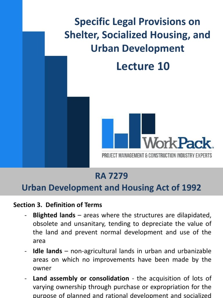 HUDCC history and laws | Public Housing | Affordable Housing