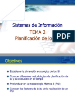 02 Planificacion Estrategica de Los SI