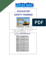 Excavator Slides