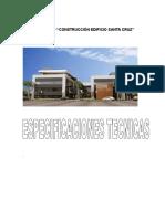 Especificaciones Tecnicas 3ra Convocatoria