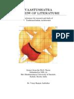 Vastushatra Review of Literature -01