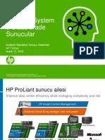 HP ProLiant BladeSystem Sunucular - 20090114