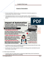 Impacts of Automation