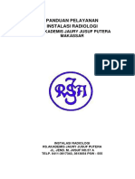 Standar Pelayanan Radiologi Rsaj