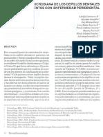 Contaminación Microbiana de Los Cepillos Dentales en Pacientes Con Enfermedad Periodontal - 2002