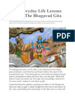 10 Everyday Life Lessons From the Bhagavad Gita