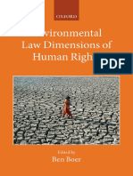 (Collected Courses of the Academy of European Law) Ben Boer-Environmental Law Dimensions of Human Rights-Oxford University Press (2015)