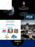 Sustain Development Climate Change Natural Disaster