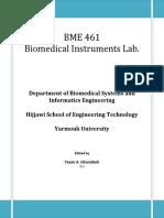 BME 461 Manual