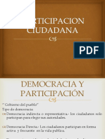 Participacion Ciudadana de Las Sociedades