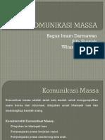 PIK - Komunikasi Massa