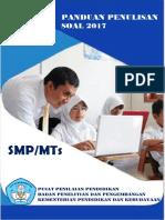 0 Pedoman Penulisan Soal SMP  MTs.pdf