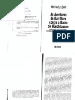 LÖWY, M. as Aventuras de Karl Marx Contra o Barão de Munchhausen