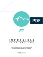 Impossible Goal Setting