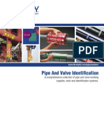 Pipe and Valve Identification Brochure