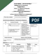 SESIONES DE LA UNIDAD - 2°