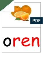Mengenal Gambar Untuk Huruf Vokal