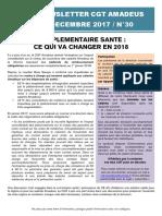 Newsletter 30 - Complémentaire Santé