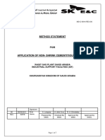 14.0 Method Statement for Application of Cementitious Grout