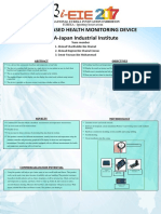 EIE17 251 Poster INTERNET BASED HEALTH MONITORING DEVICE