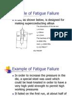 Example of Fatigue Failure